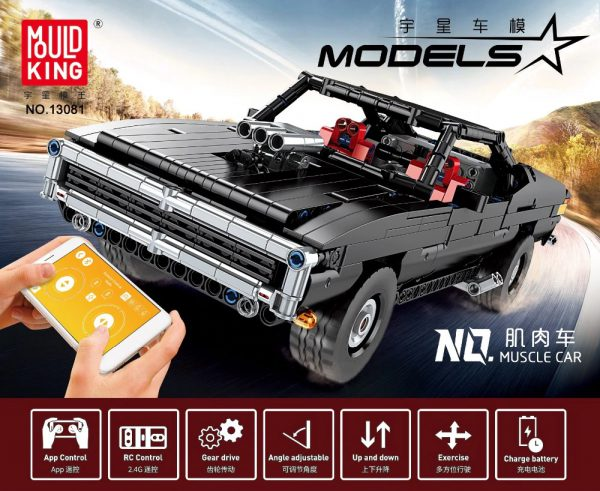 Technic MOULDKING 13081 Ultimate Muscle Car