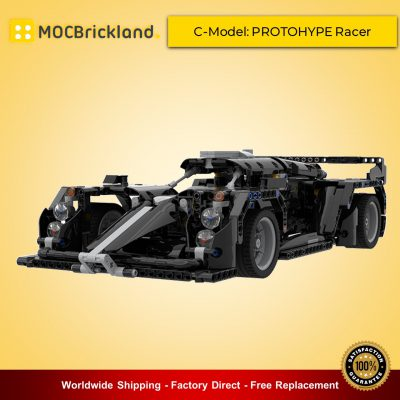 Technic moc-45802 42111 c-model: protohype racer by cleansupgood mocbrickland
