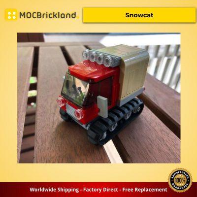 Creator MOC-10037 Snowcat by De_Marco MOCBRICKLAND