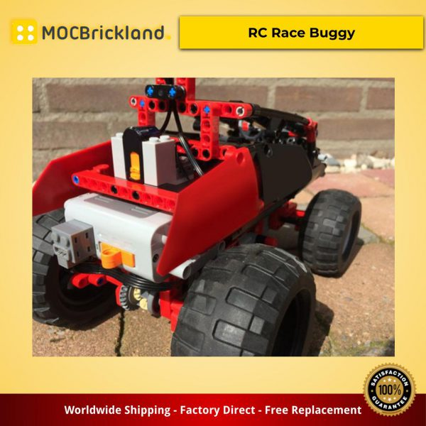 Technic MOC-9387 RC Race Buggy by Jerry LEGO creations MOCBRICKLAND