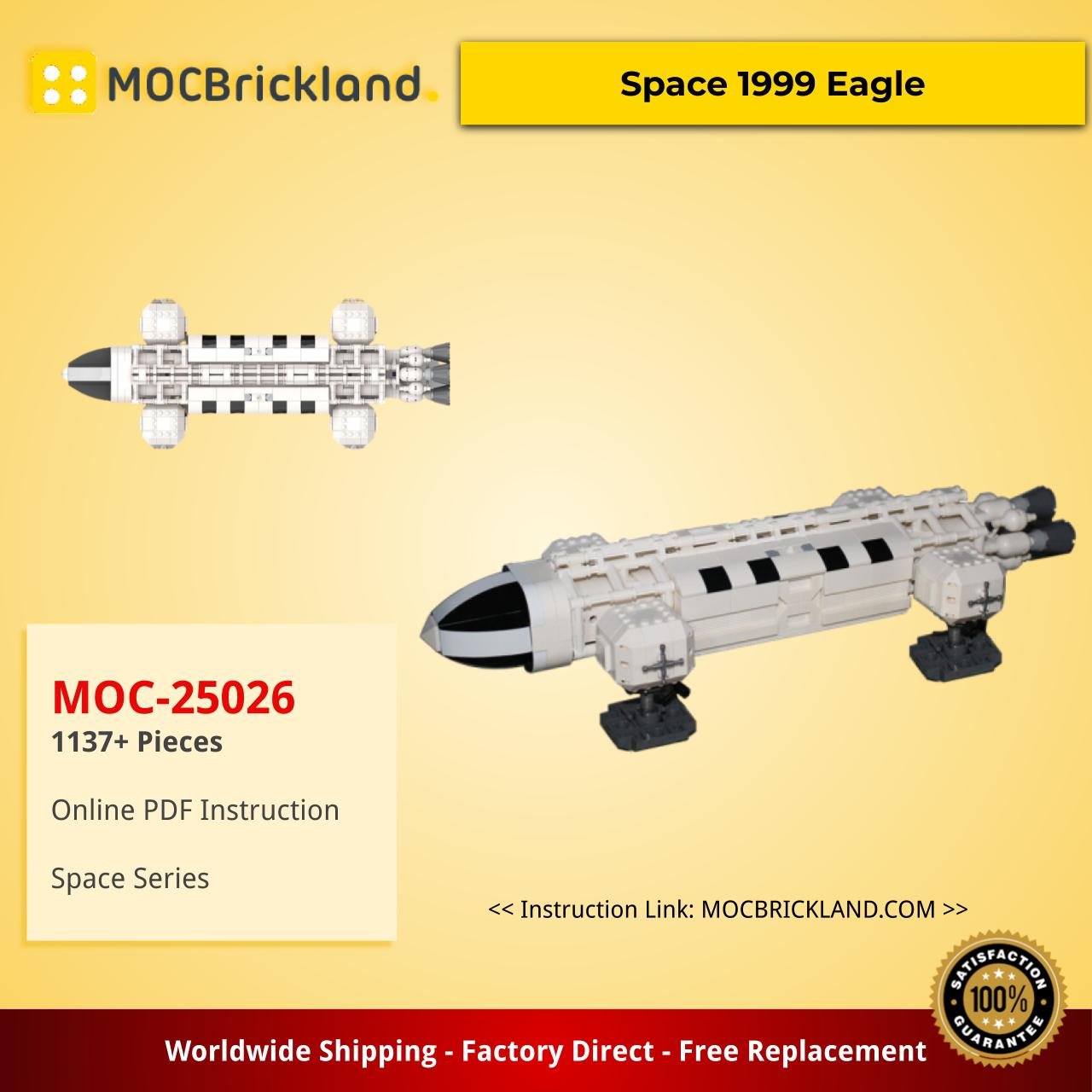 Space MOC-25026 Space 1999 Eagle by divinglog MOCBRICKLAND