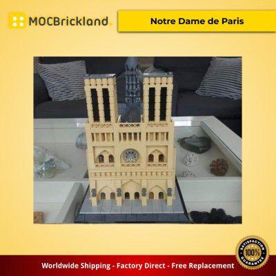Architecture moc-24774 notre dame de paris by fredl45 mocbrickland