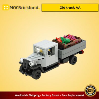 City MOC-10371 Old truck AA by De_Marco MOCBRICKLAND