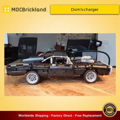 Technic MOC-42308 42111 Dom's Charger By efferman MOCBRICKLAND