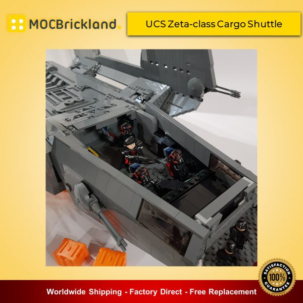 Star Wars MOC-8143 UCS Zeta-class Cargo Shuttle by RenegadeClone MOCBRICKLAND