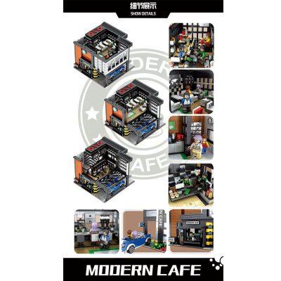 Modular Buildings JUHANG 86005 Modern Cafe