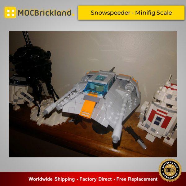 Star Wars MOC-15626 Snowspeeder - Minifig Scale