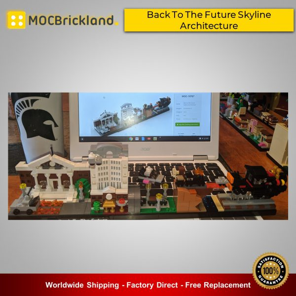 Architecture MOC-19767 Back To The Future Skyline Architecture By MOMAtteo79 MOCBRICKLAND