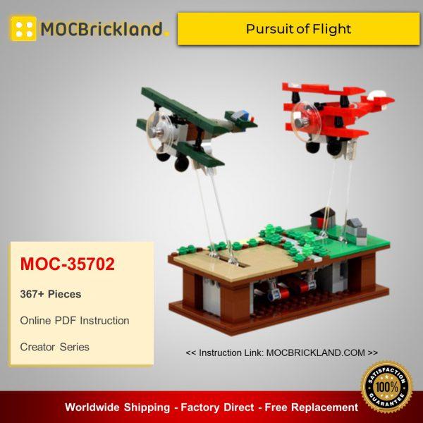 Creator MOC-35702 Pursuit of Flight By JKBrickworks MOCBRICKLAND