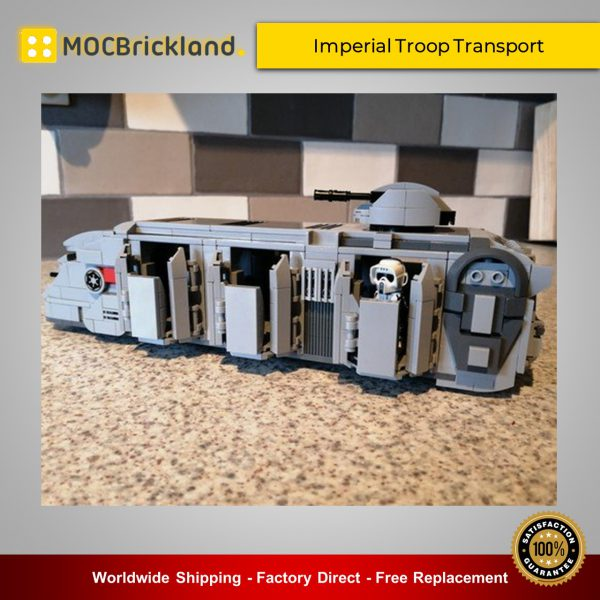 Star Wars MOC-38045 Imperial Troop Transport By papaglop MOCBRICKLAND