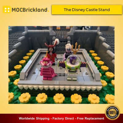 Disney MOC-39285 The Disney Castle Stand By terryoleary MOCBRICKLAND