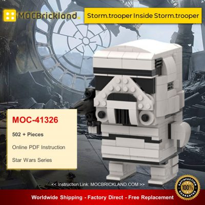 Star Wars MOC-41326 Storm.trooper Inside Storm.trooper By beewiks MOCBRICKLAND