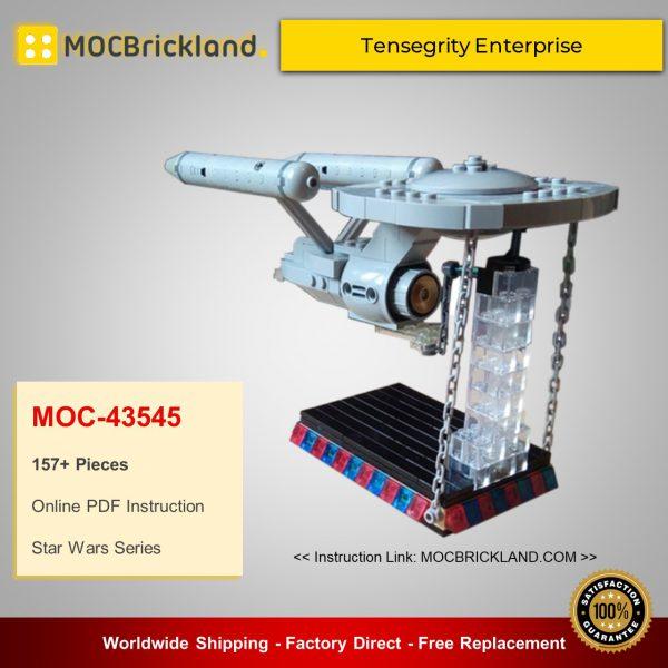 Creator MOC-43545 Tensegrity Enterprise By Moguntia MOCBRICKLAND