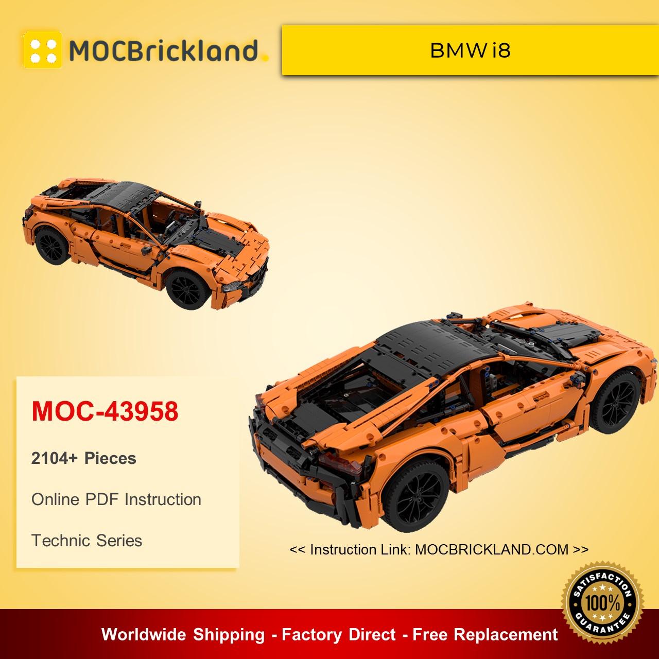 Technic MOC-43958 BMW i8 By GeyserBricks MOCBRICKLAND