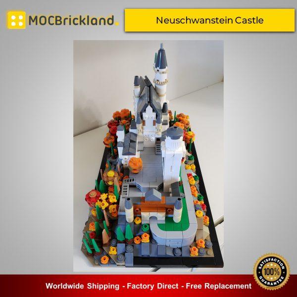 Architecture MOC-46237 Neuschwanstein Castle By benbuildslego MOCBRICKLAND