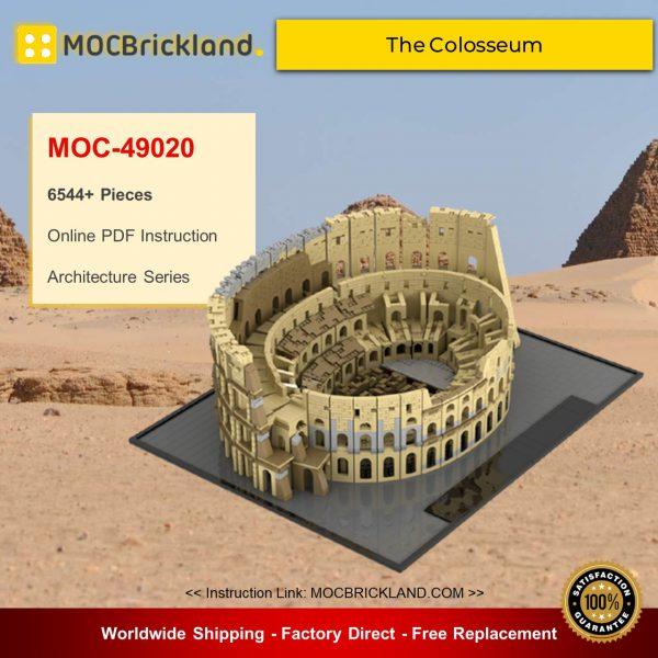 Architecture moc-49020 the colosseum by brickgloria mocbrickland