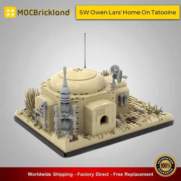 Star Wars MOC-50144 SW Owen Lars' Home On Tatooine By MOCOPOLIS MOCBRICKLAND