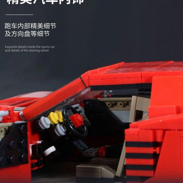 Technic SY 0001 FERRARI 512 TR