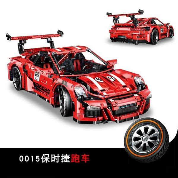 Technic LELE QL0015 Mini Porsche