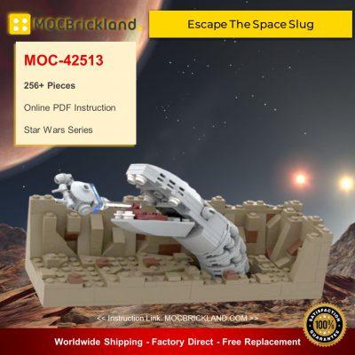 Star Wars MOC-42513 Escape The Space Slug-Nano Falcon-Episode V By 6211 MOCBRICKLAND