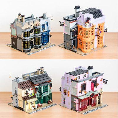 Modular buildings king 20007 diagon alley
