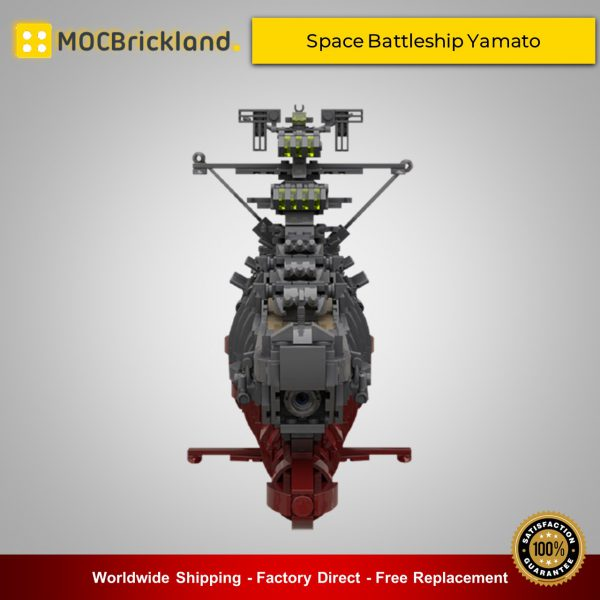 Space moc-31693 space battleship yamato by apenello mocbrickland