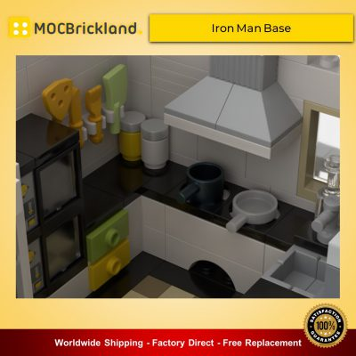 Super Heroes MOC-37124 Iron Man Base By beewiks MOCBRICKLAND