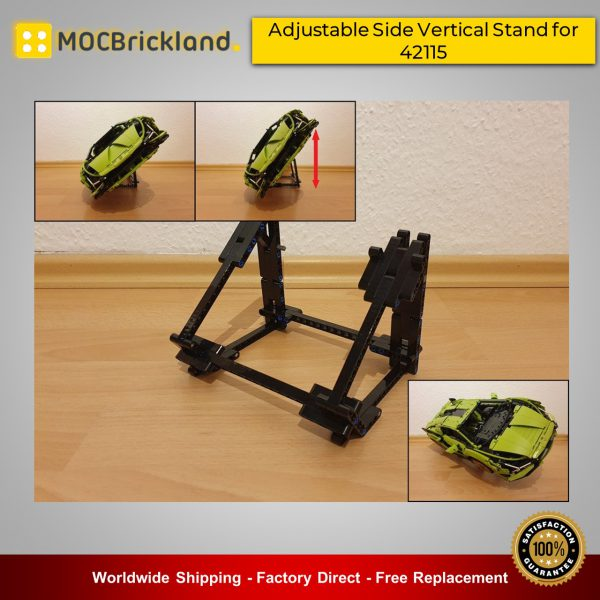 Technic MOC-45721 Adjustable Side Vertical Stand for 42115 Lamborghini Sián FKP 37 By universalbrick MOCBRICKLAND