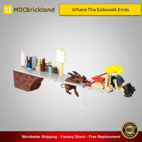 Movie MOC-90027 Where The Sidewalk Ends MOCBRICKLAND