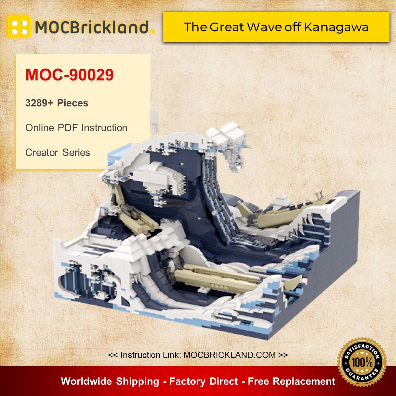 Creator MOC-90029 The Great Wave off Kanagawa