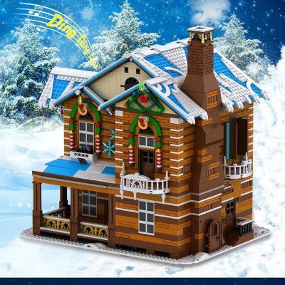 Modular Buildings MOULDKING 16011 Merry Christmas Christmas House