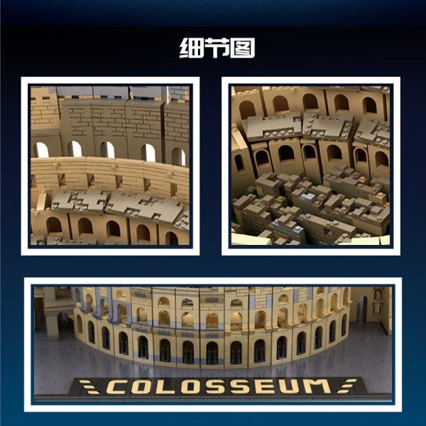 MOULDKING 22002 Ancient Roman Colosseum 2 LEPIN™ Land Shop