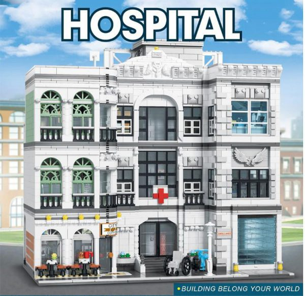 Modular Buildings URGE 10188 Hospital