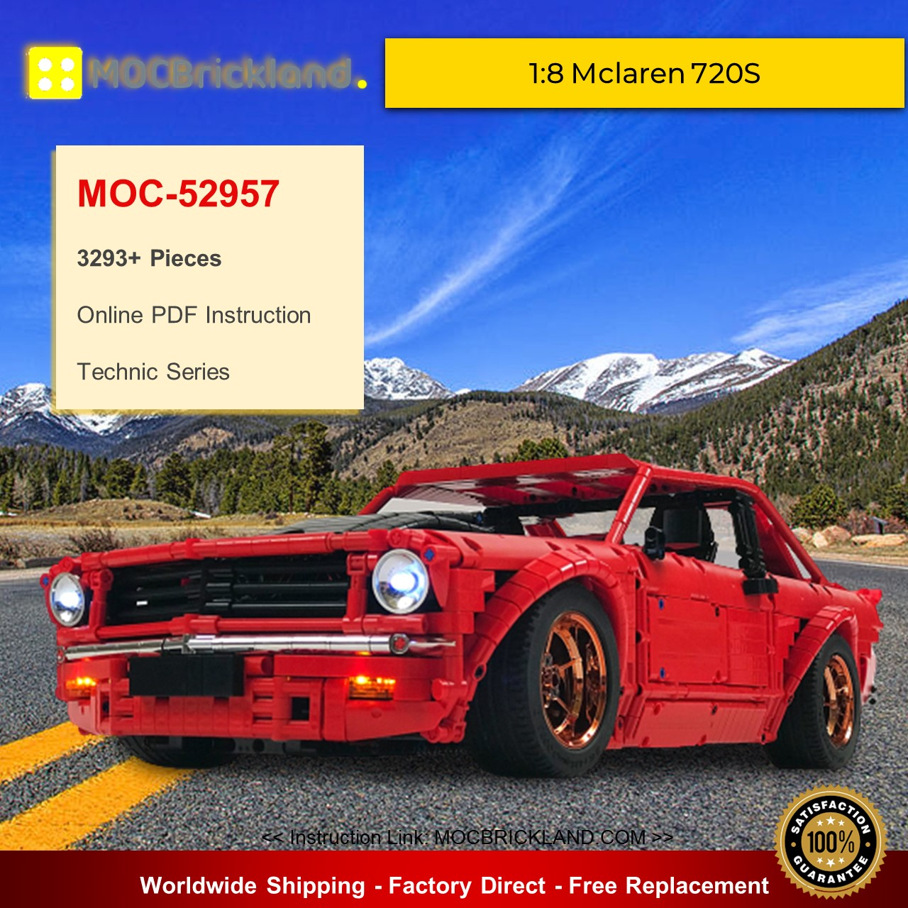Technic MOC-52957 Holden Torana A9X By Loxlego MOCBRICKLAND