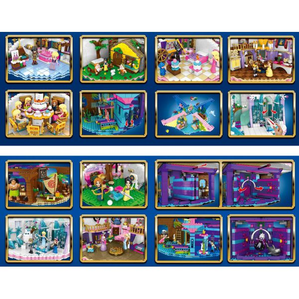 Creator DingGao 6566 Princess Star LEPIN™ Land Shop