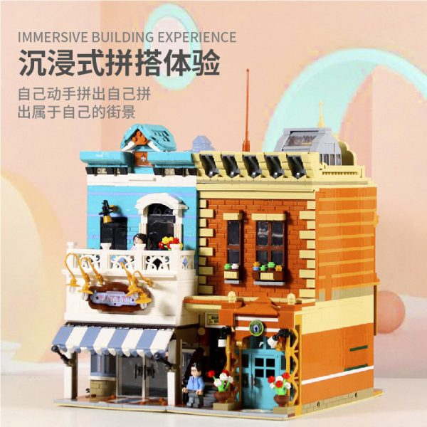 DING GAO DG2004 Bakery and barber shop 3 LEPIN™ Land Shop