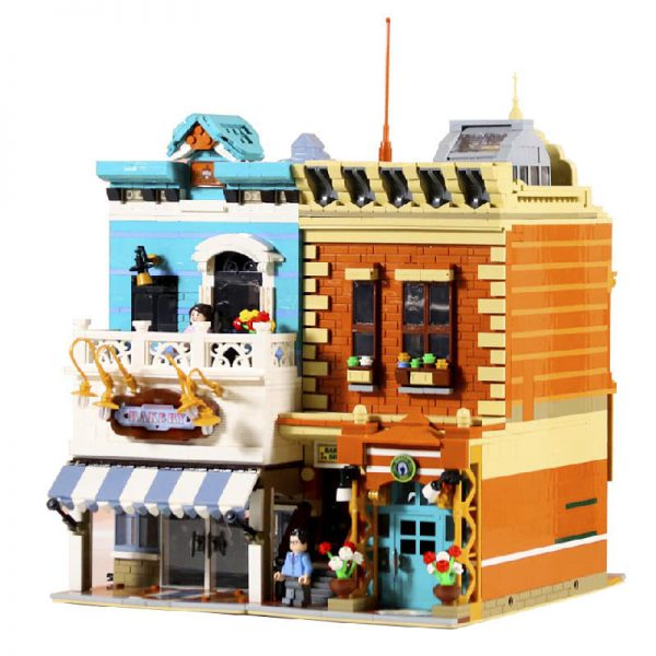 DING GAO DG2004 Bakery and barber shop 5 LEPIN™ Land Shop