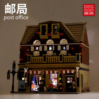 Modular buildings dinggao 2002 the post office with lights