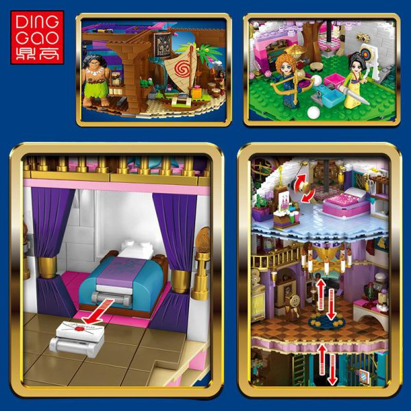 DingGao 6566 Princess Star 3 LEPIN™ Land Shop
