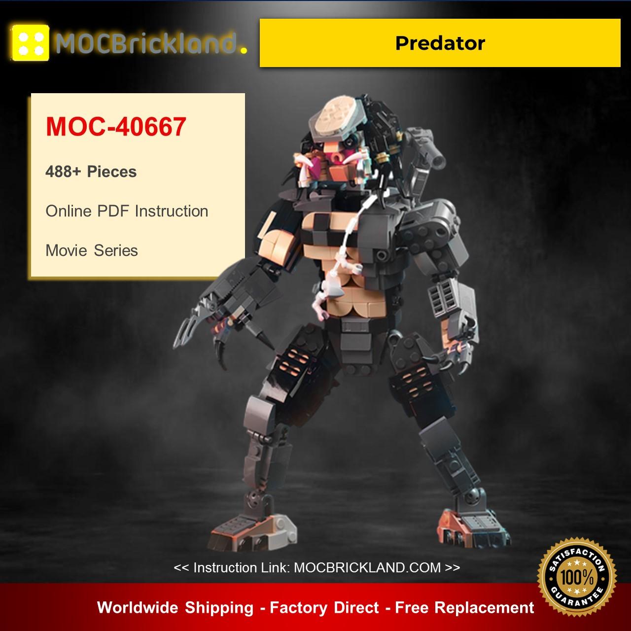 Movie MOC-40667 Predator By buildbetterbricks MOCBRICKLAND