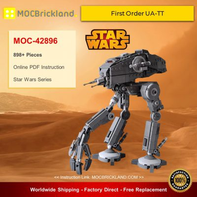 Star Wars MOC-42896 First Order UA-TT By EDGE OF BRICKS MOCBRICKLAND