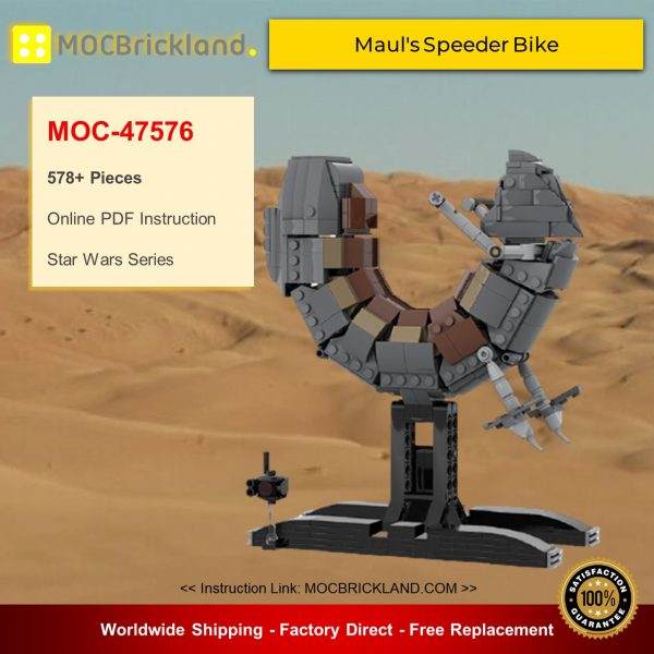 Star Wars MOC-47576 Maul's Speeder Bike By Jeffy-O MOCBRICKLAND