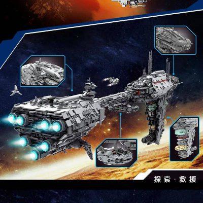 Mouldking 21001 moc 5083 mortesvs ucs nebulon b medical frigate star wars by alloutbrick 3 lepin™ land shop