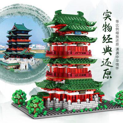 Sembo 601141 pavilion of prince teng tengwang pavilion nanchang jiangxi 2 lepin™ land shop