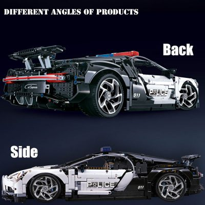 Technic DECOOL 3388D The Police Racing Car 3 LEPIN™ Land Shop