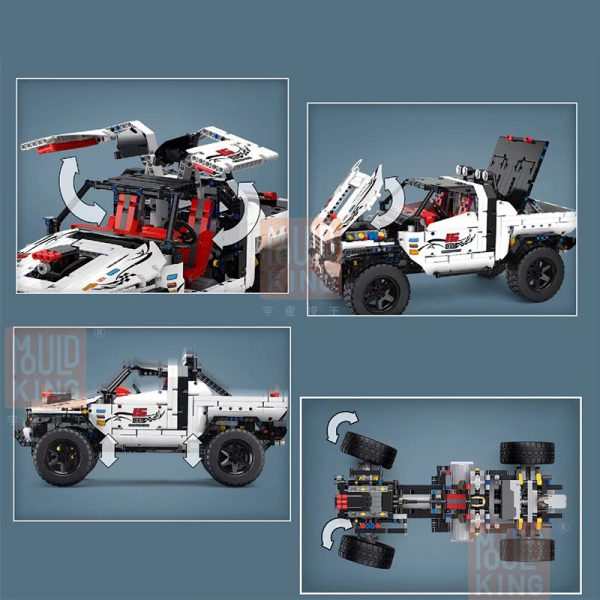 Technic MOULDKING 18005 Silver Flagship Off Road 3 LEPIN™ Land Shop