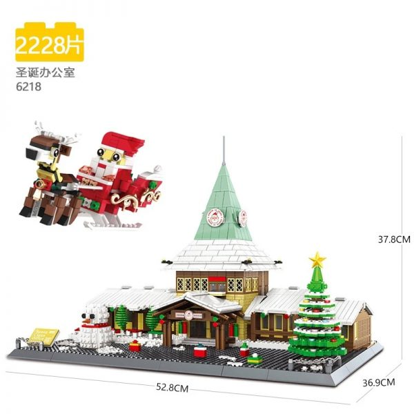 Creator WANGE 6218 Santa Claus Office
