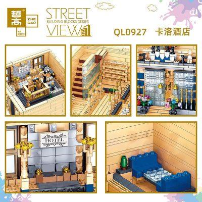 Modular buildings zhegao ql0927 kaluo hotel