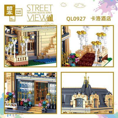 Zhegao ql0927 3 lepin™ land shop