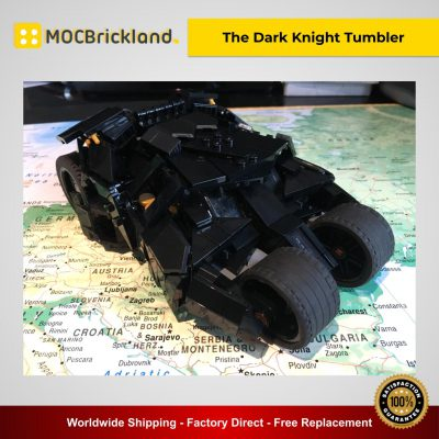 Movie Batman MOC-40543 The Dark Knight Tumbler By Riskjockey MOCBRICKLAND